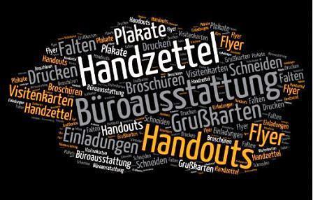 Klassischer Druck Werbeteam Scheeßel